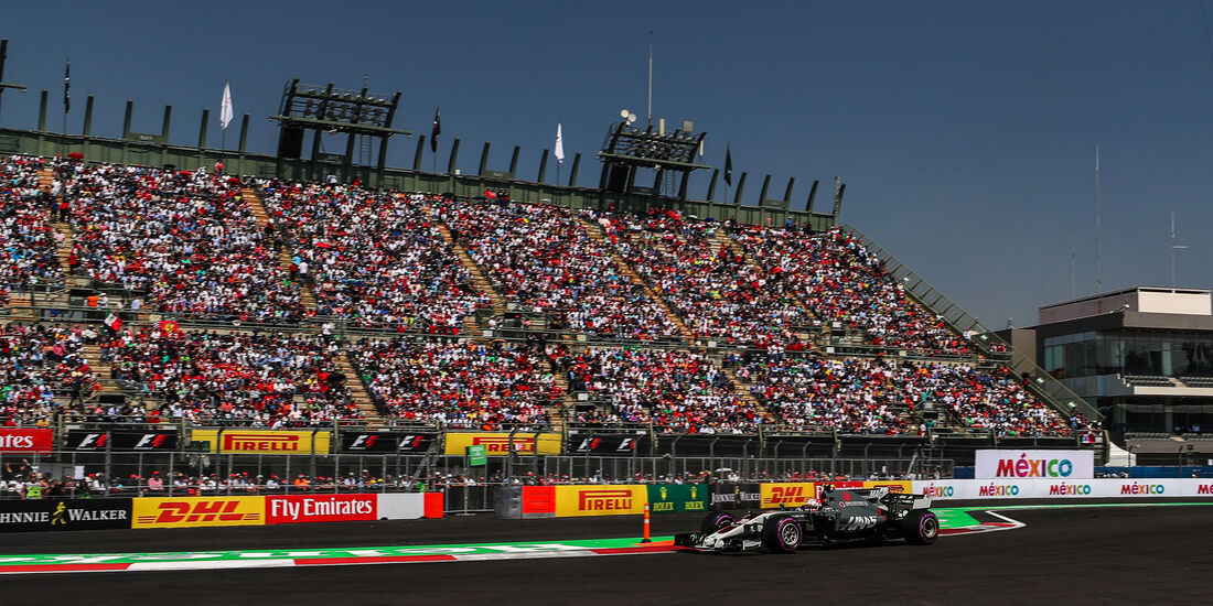 Kevin Magnussen - HaasF1 - GP Mexiko 2017 - Qualifying