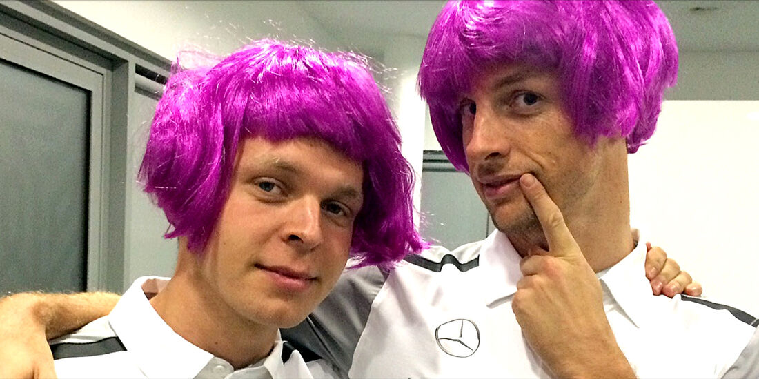Kevin Magnussen & Jenson Button - McLaren - Formel 1 - GP Monaco - 21. Mai 2014