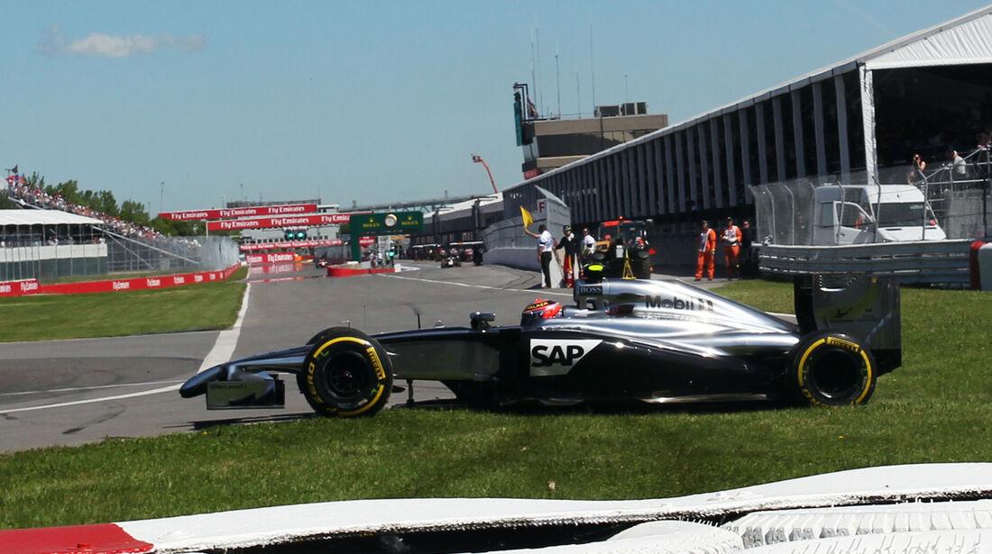Kevin Magnussen - McLaren - Formel 1 - GP Kanada - Montreal - 7. Juni 2014