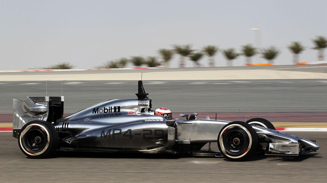 Kevin Magnussen - McLaren - Test - Bahrain - 27. Februar 2014