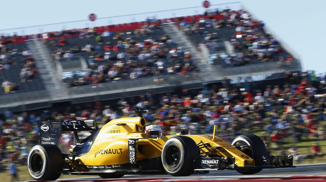 Kevin Magnussen - Renault - Formel 1 - Austin - GP USA - 22. Oktober 2016
