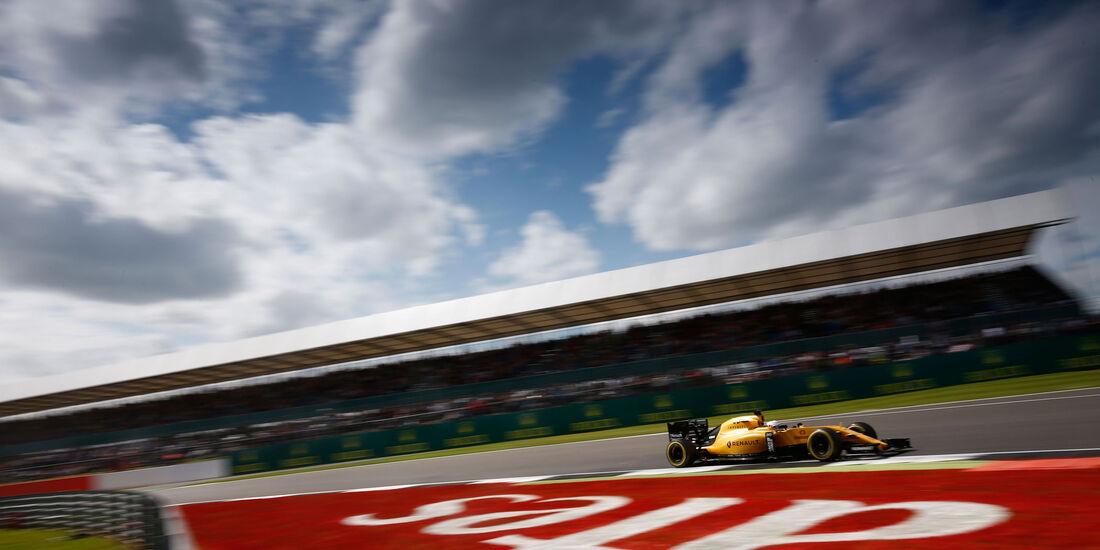 Kevin Magnussen - Renault - GP England 2016
