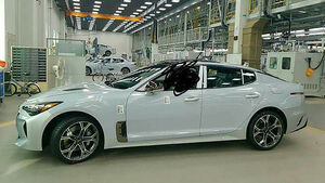 Kia GT Leaked