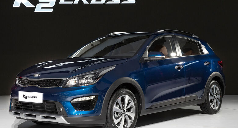 Kia K2 Cross Shanghai Auto Show 2017