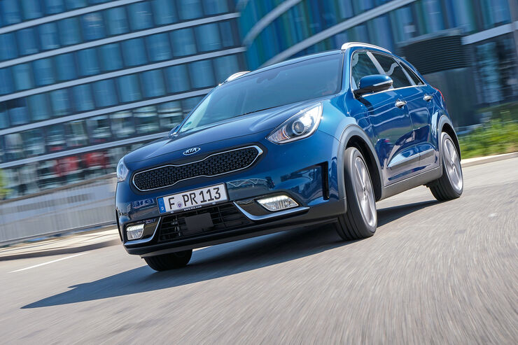 kia niro 1 6 gdi 2016 im test auto motor und sport. Black Bedroom Furniture Sets. Home Design Ideas