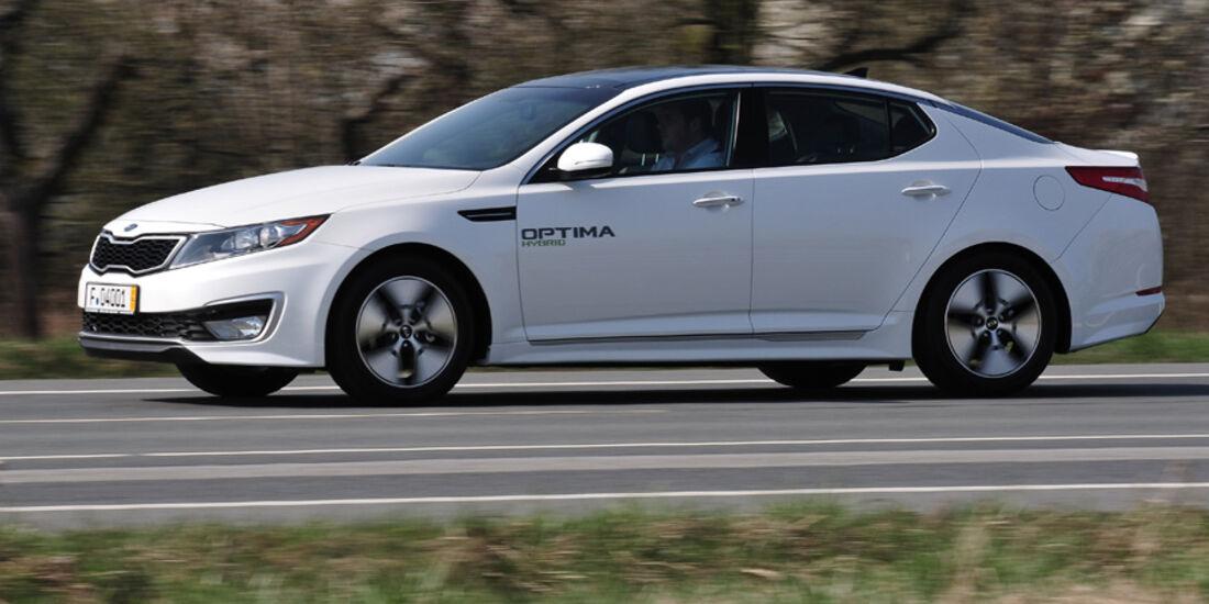 Kia Optima Hybrid Seitenansicht