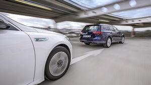 Kia Optima Sportswagon Plug-in-Hybrid, VW Passat Variant GTE, Exterieur