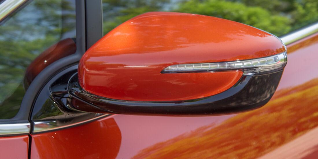 Kia Procee'd 1.6 GDI, Seitenspiegel