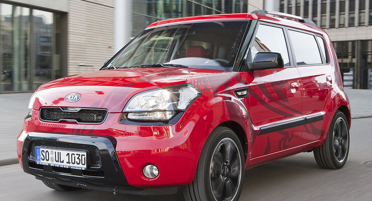 kia soul 1 6 crdi test auto motor und sport. Black Bedroom Furniture Sets. Home Design Ideas