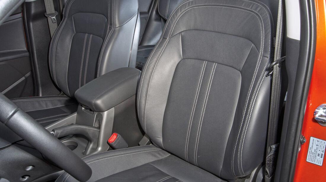 Kia Sportage 1.7 CRDi, Fahrersitz