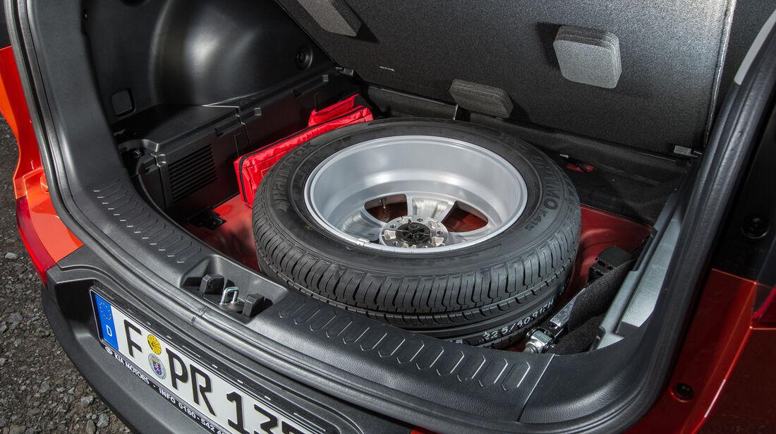 Kia Sportage 1.7 CRDi, Kofferraum, Ersatzrad