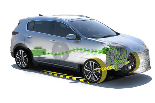 Kia Sportage 48-Volt-Diesel-Mildhybrid
