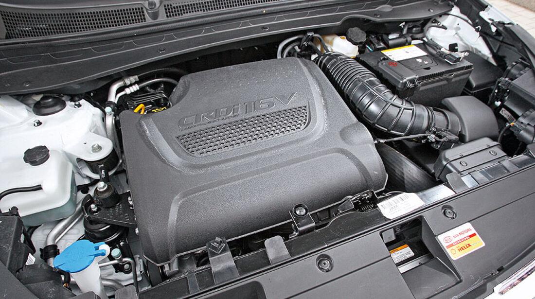 Kia Sportage, Motor