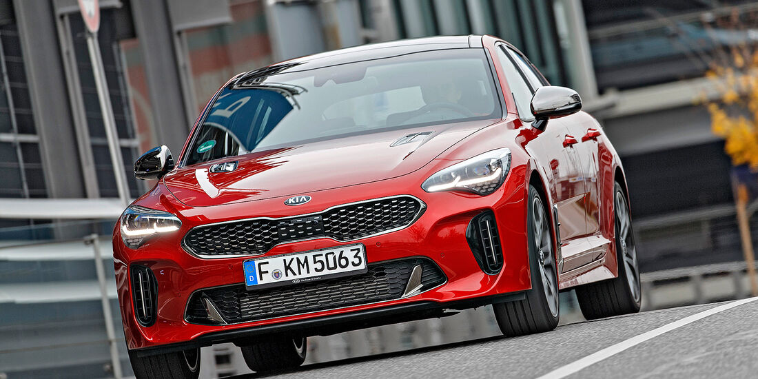 Kia Stinger 3.3 T-GDI V6 - Serie - Limousinen bis 75000 Euro - sport auto Award 2019