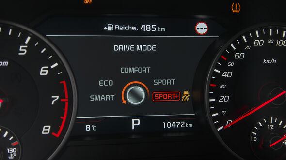 Kia Stinger GT 3.3 T-GDI AWD, Interieur