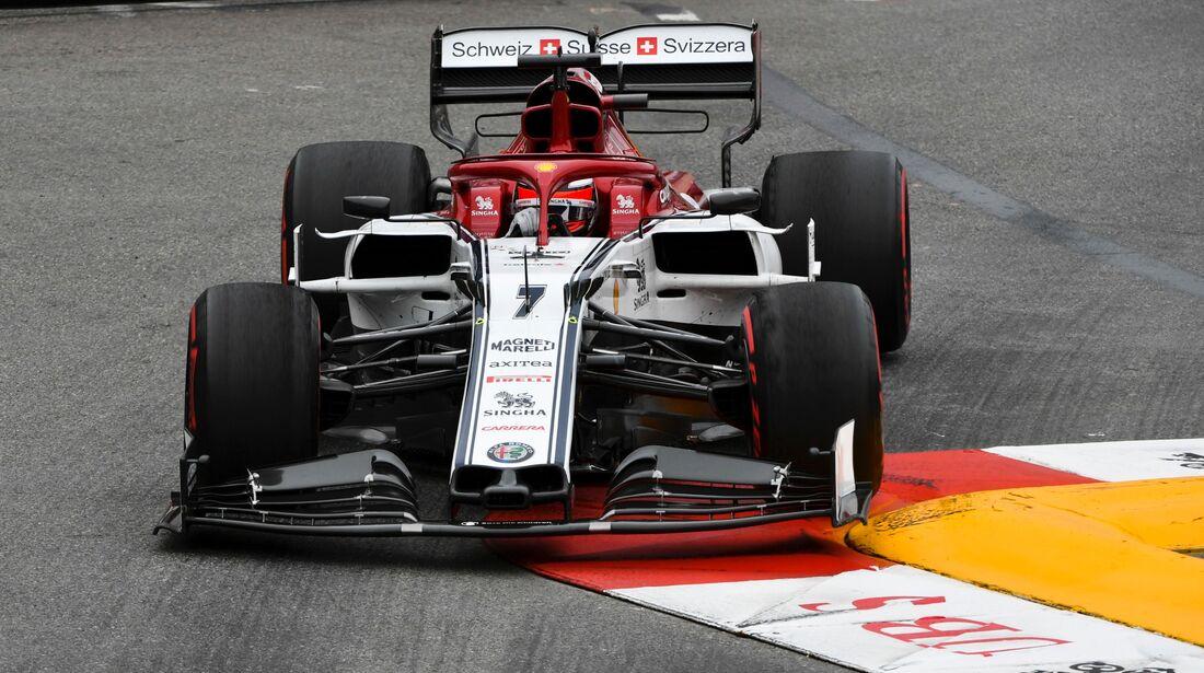 Kimi Räikkönen - Alfa Romeo - Formel 1 - GP Monaco - 23. Mai 2019