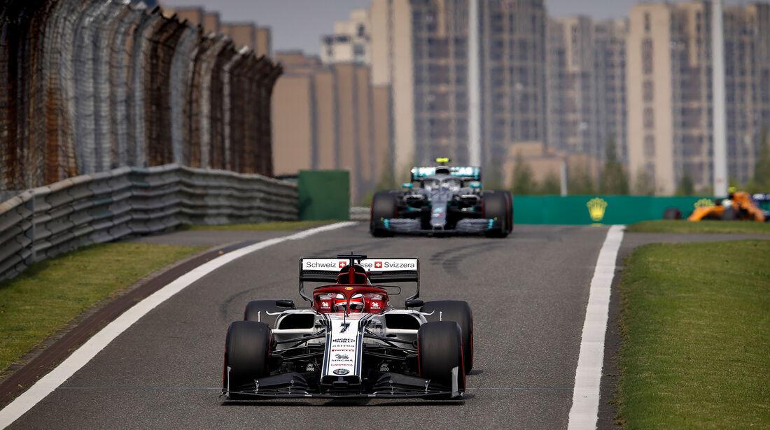 Kimi Räikkönen - Alfa-Sauber - GP China - Shanghai - Samstag - 13.4.2019