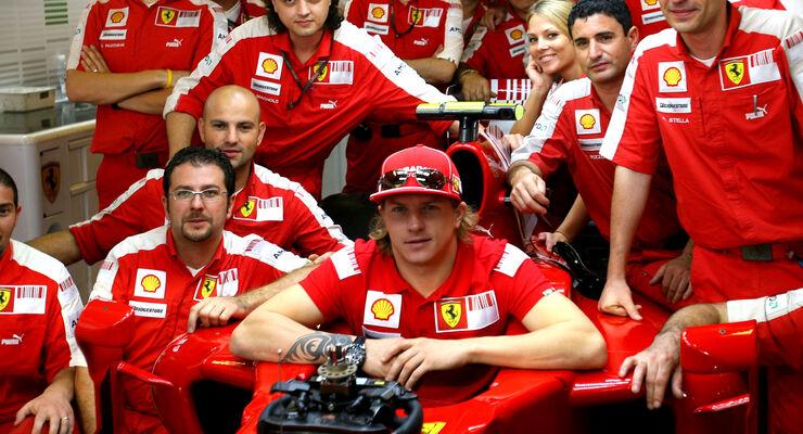 Kimi Räikkönen Ferrari 2009