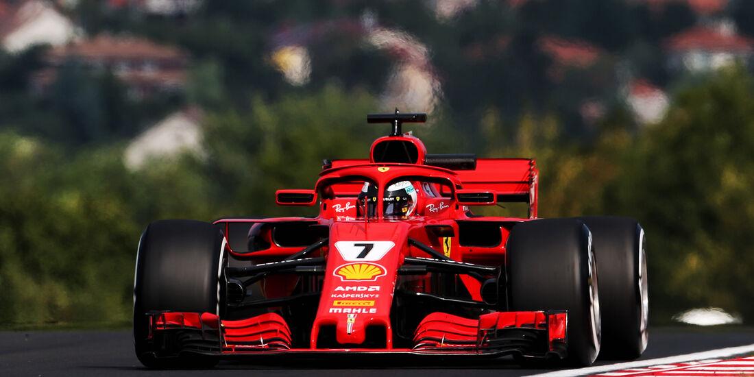 Kimi Räikkönen - Ferrari - F1-Test - Budapest - 1. August 2018
