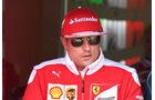 Kimi Räikkönen - Ferrari - F1-Test - Silverstone - 13. Juli 2016