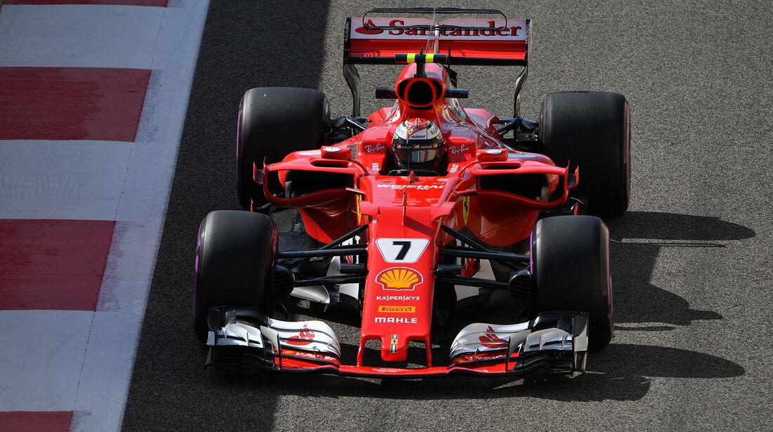 Kimi Räikkönen - Ferrari - Formel 1 - GP Abu Dhabi - 24. November 2017