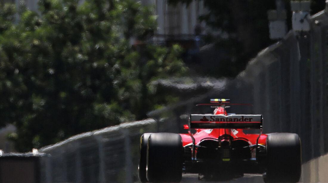 Kimi Räikkönen - Ferrari - Formel 1 - GP Aseerbaidschan 2017 - Training - Freitag - 23.6.2017