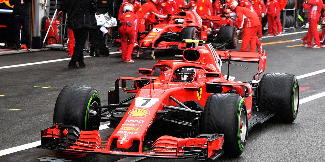 Kimi Räikkönen - Ferrari - Formel 1 - GP Belgien - Spa-Francorchamps - 25. August 2018