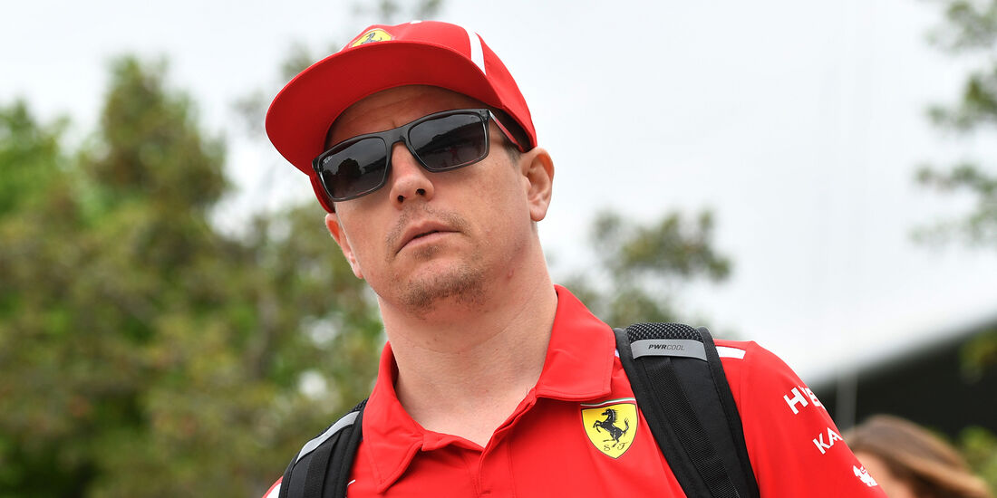 Kimi Räikkönen - Ferrari - Formel 1 - GP China - Shanghai - 12. April 2018