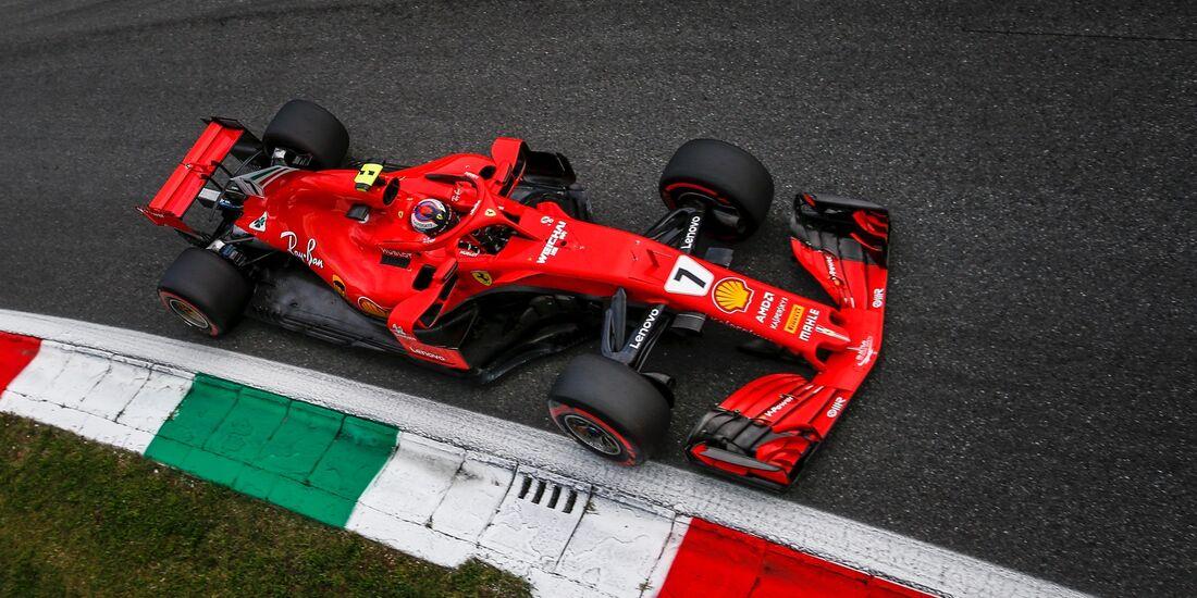 Kimi Räikkönen - Ferrari - Formel 1 - GP Italien - 01. September 2018