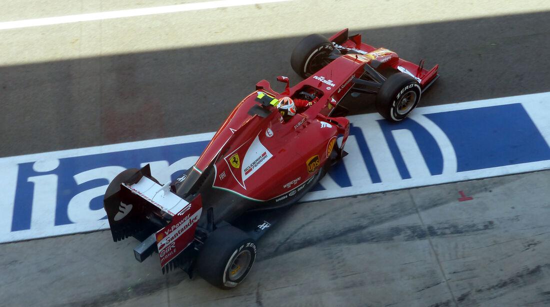 Kimi Räikkönen - Ferrari   - Formel 1 - GP Italien - 6. September 2014