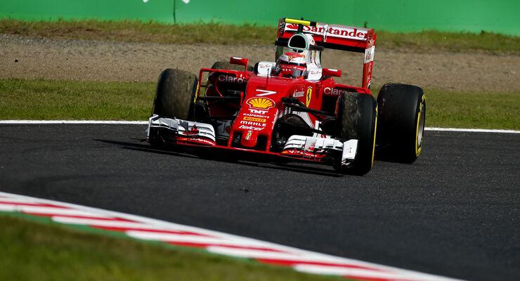 Kimi Räikkönen - Ferrari - Formel 1 - GP Japan - Suzuka - Freitag - 7.10.2016