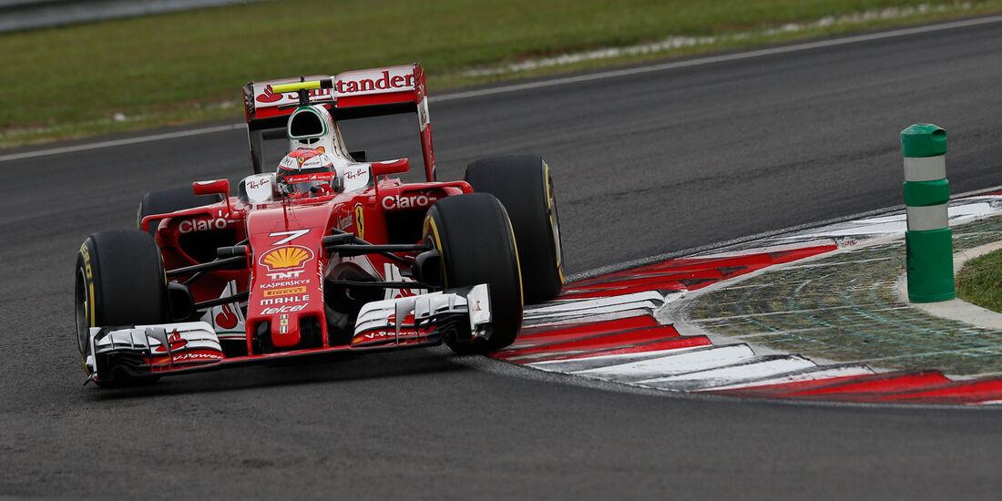 Kimi Räikkönen - Ferrari - Formel 1 - GP Malaysia - Qualifying - 1. Oktober 2016