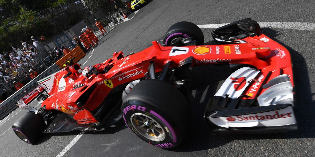 Kimi Räikkönen - Ferrari - Formel 1 - GP Monaco - 25. Mai 2017