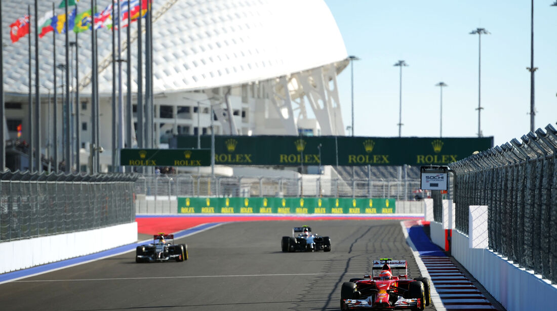 Kimi Räikkönen - Ferrari - Formel 1 - GP Russland - 11. Oktober 2014