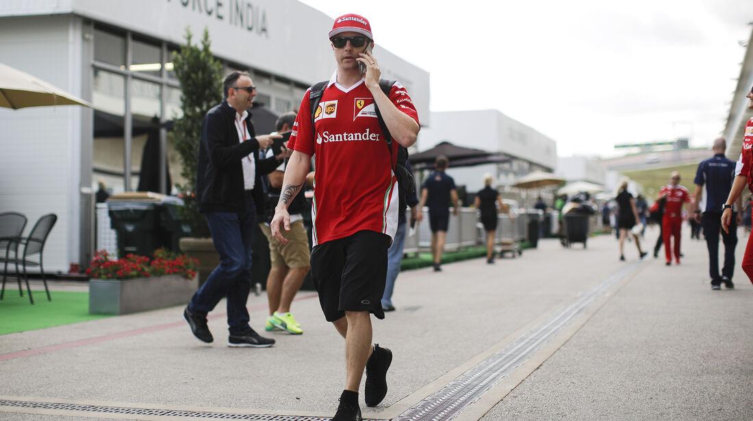 Kimi Räikkönen - Ferrari - Formel 1 - GP USA - Austin - 20. Oktober 2016