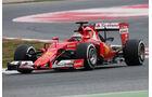 Kimi Räikkönen - Ferrari  Formel 1-Test - Barcelona - 26. Februar 2015