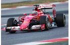 Kimi Räikkönen - Ferrari  - Formel 1-Test - Barcelona - 26. Februar 2015