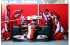 Kimi Räikkönen - Ferrari - Formel 1-Test - Jerez - 4. Februar 2015
