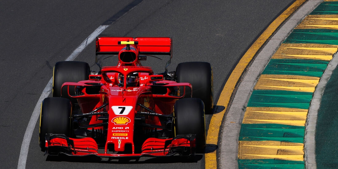 Kimi Räikkönen - Ferrari - GP Australien 2018 - Melbourne - Albert Park - Freitag - 23.3.2018
