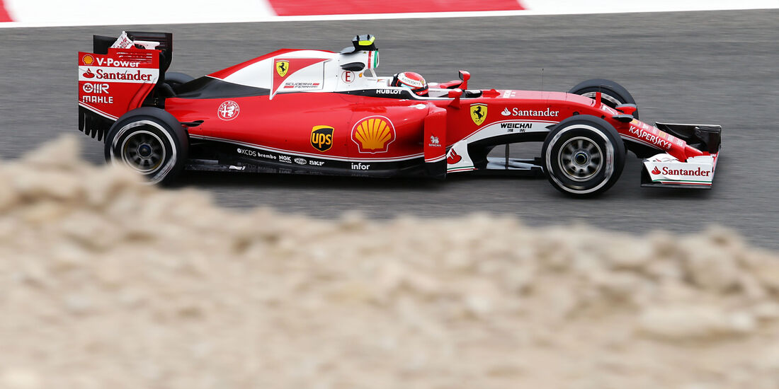 Kimi Räikkönen - Ferrari - GP Bahrain - Formel 1 - 1. April 2016