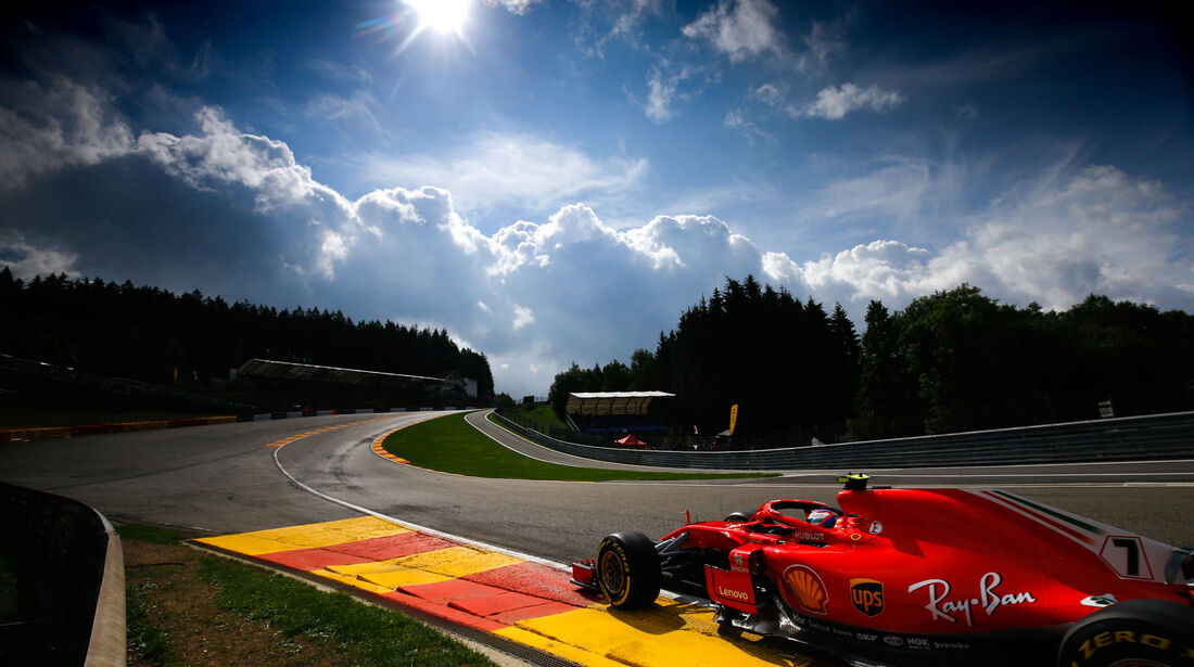 Kimi Räikkönen - Ferrari - GP Belgien 2018