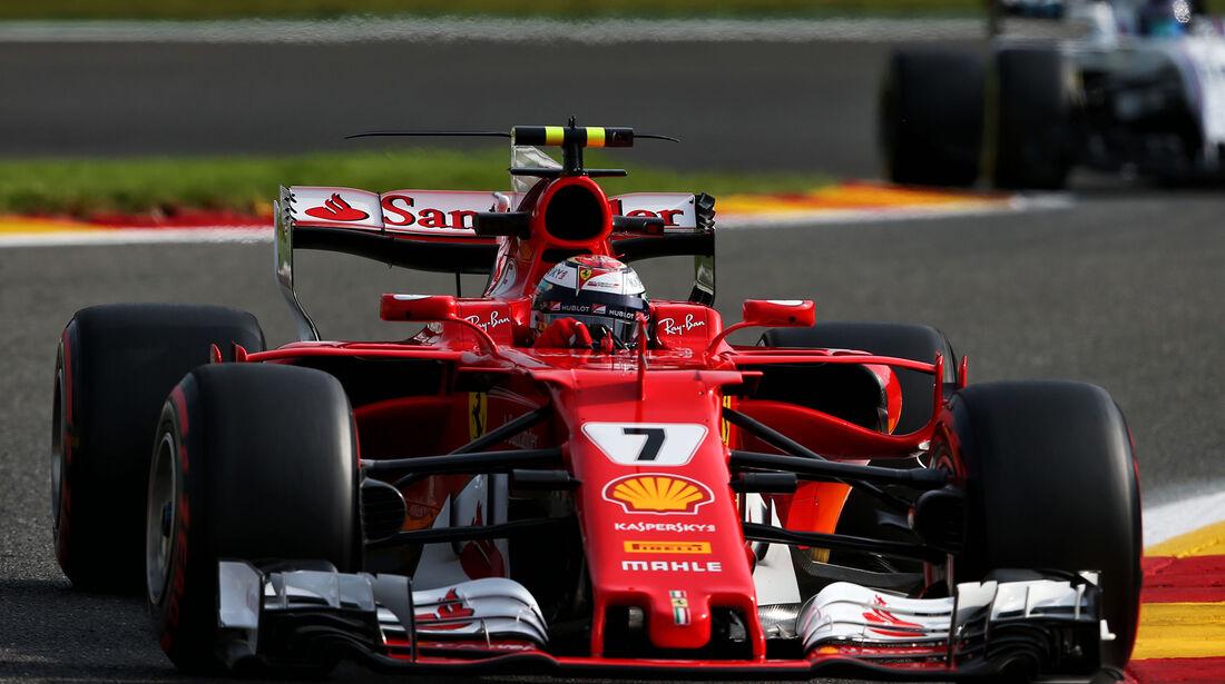 Kimi Räikkönen - Ferrari - GP Belgien - Spa-Francorchamps - Formel 1 - 25. August 2017