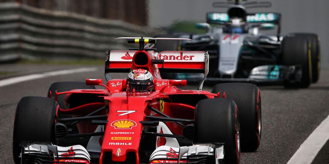 Kimi Räikkönen - Ferrari - GP China - Shanghai - Samstag - 8.4.2017