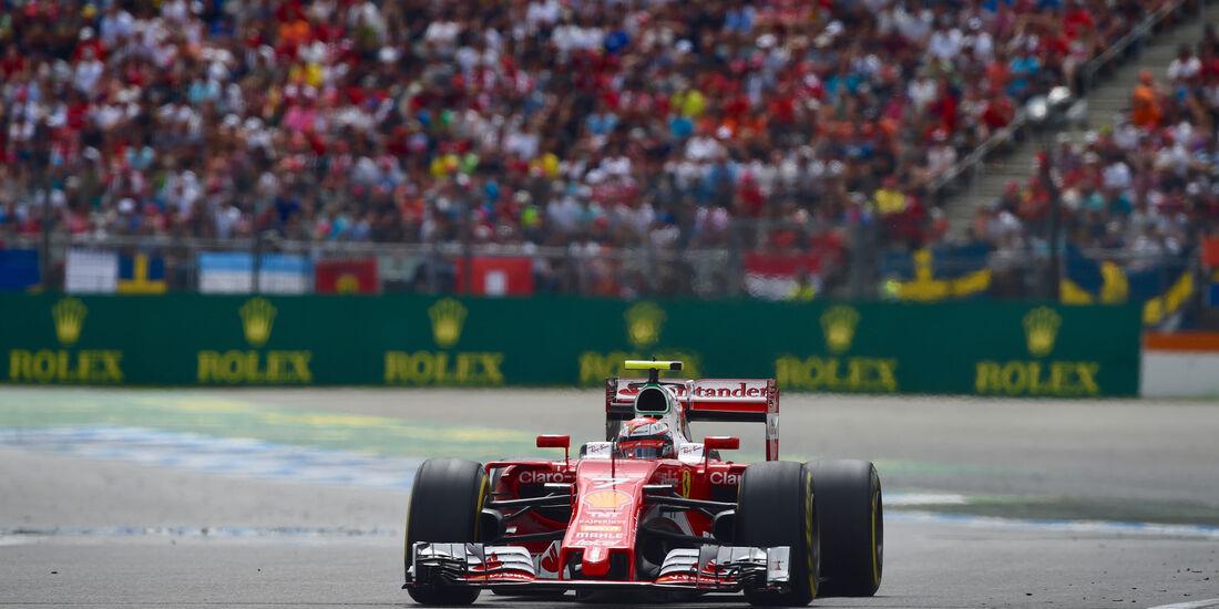 Kimi Räikkönen - Ferrari - GP Deutschland 2016 - Hockenheim