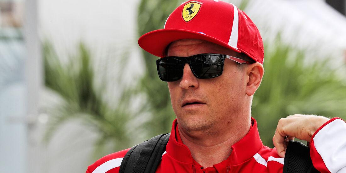 Kimi Räikkönen - Ferrari - GP Russland - Sotschi - Formel 1 - Donnerstag - 27.9.2018
