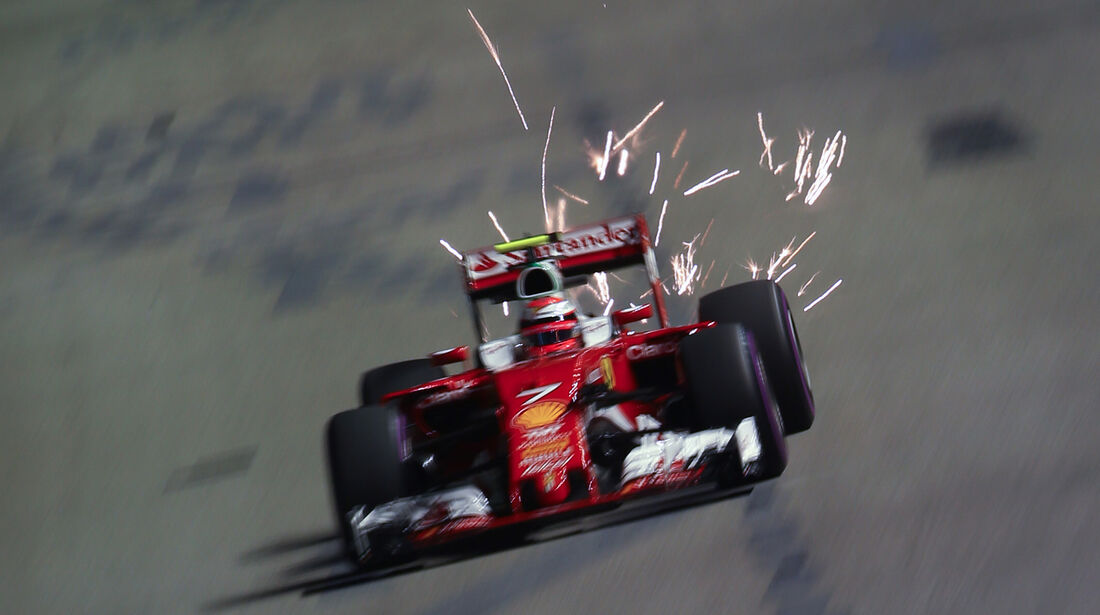 Kimi Räikkönen - Ferrari - GP Singapur 2016