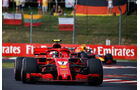 Kimi Räikkönen - Ferrari - GP Ungarn 2018 - Budapest - Rennen