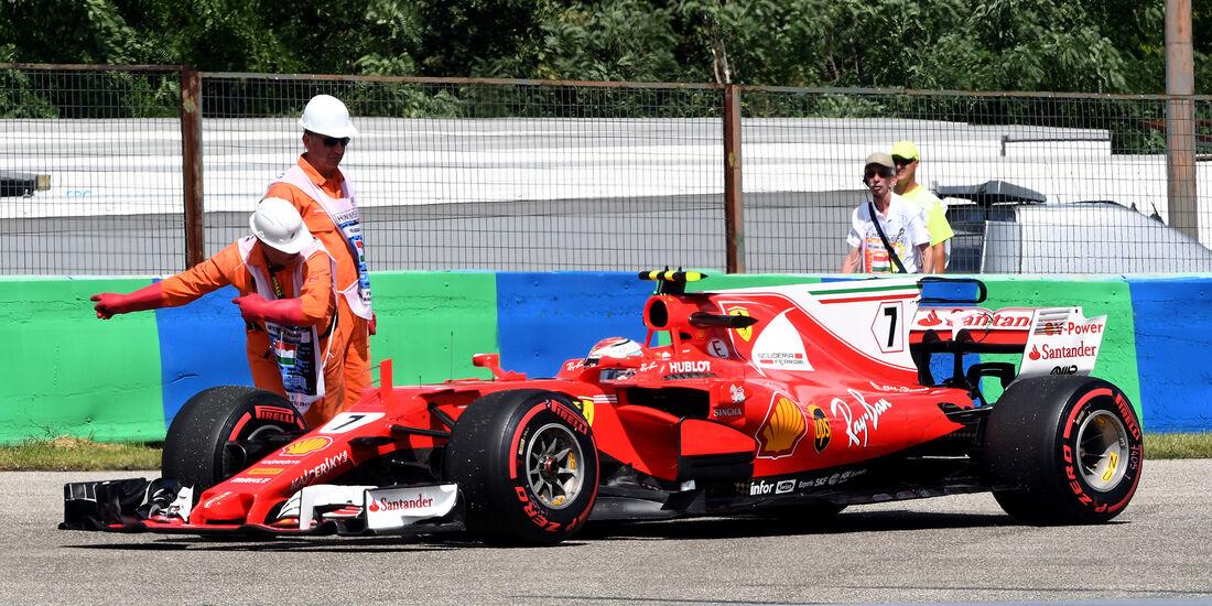Kimi Räikkönen - Ferrari - GP Ungarn - Budapest - 28. Juli 2017