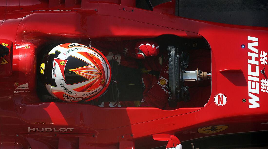 Kimi Räikkönen - Ferrari - Test - Bahrain - 27. Februar 2014
