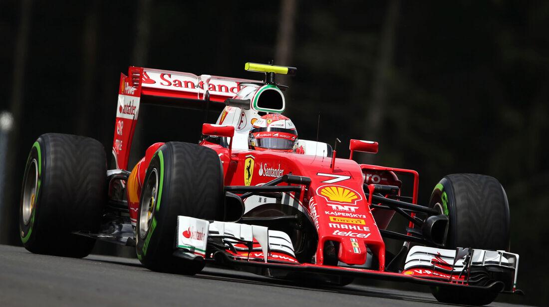 Kimi Räikkönen - Ferraro  - Formel 1 - GP Österreich - 2. Juli 2016